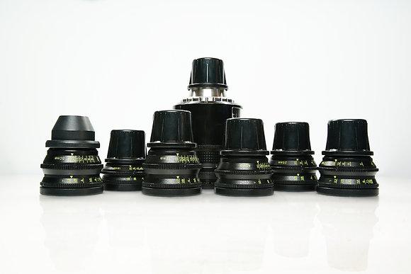 Série d'optiques Cooke Speed Panchros S2/S3 (Tarif HT/Jour)