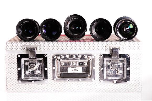 Série d'optiques  Zeiss GO - T 1.4