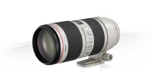 Objectif Canon EF 70-200 mm F/2.8L IS II USM