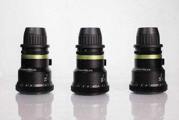 Série d'optiques SLR Magic Anamorphic 1.33x