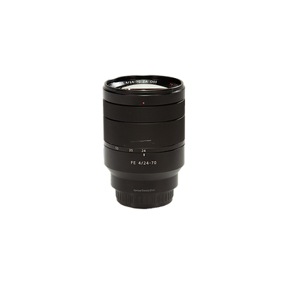 Objectif Sony FE Zoom 24-70 mm F/4 Zeiss