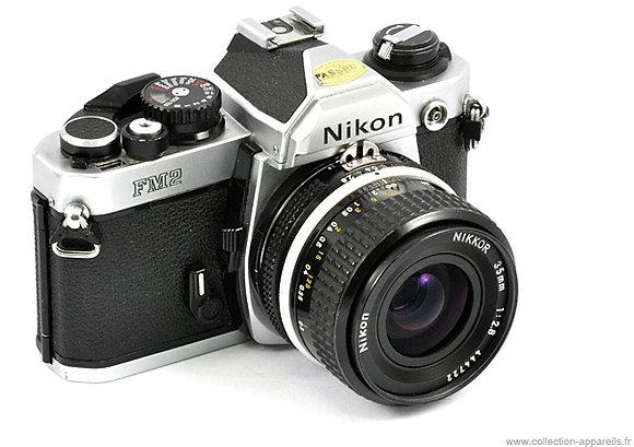 Appareil photo argentique Nikon FM2