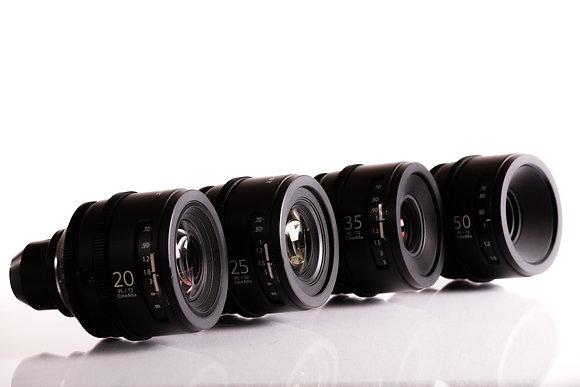 Série d'optiques Sony Cinéma - Prime CineAlta