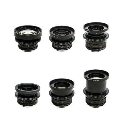 Série d'optiques Leica R ø80mm