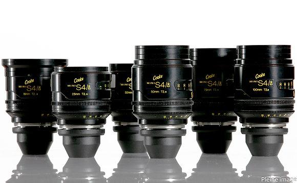 Série d'optiques Cooke Mini S4/i T/2.8