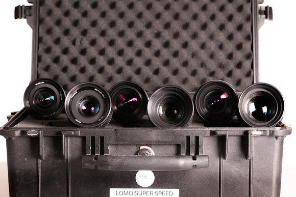 Série d'optiques Lomo Super Speed