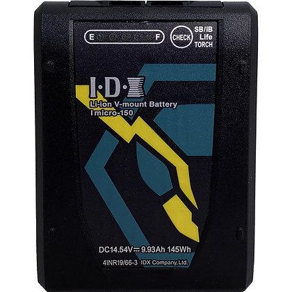 Batterie V-lock IDX Imicro-150Wh (Tarif Jour / HT)