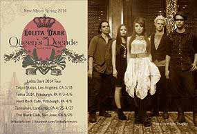 LOLITA DARK ANNOUNCES 2014 TOUR AND NEW ALBUM RELEASE