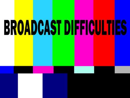 Virtual Service Cancelled - 1-27-21