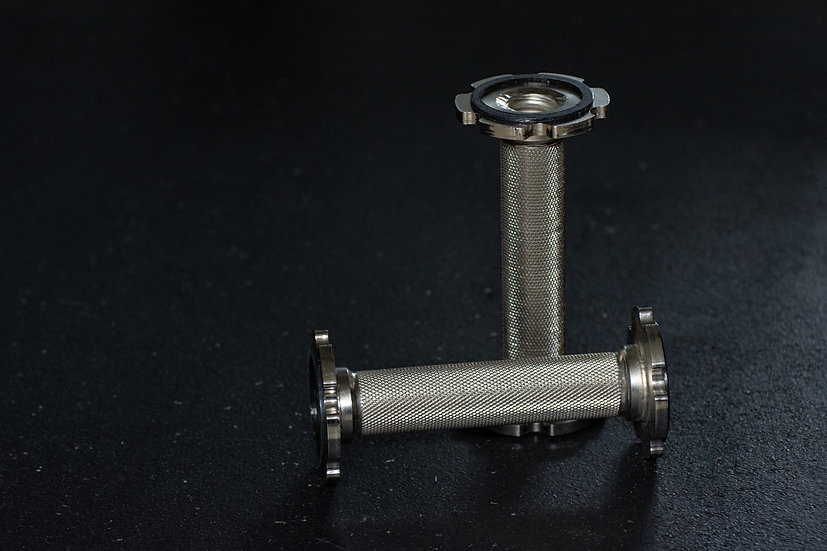 Dumbbell Pépin handles set, without screws