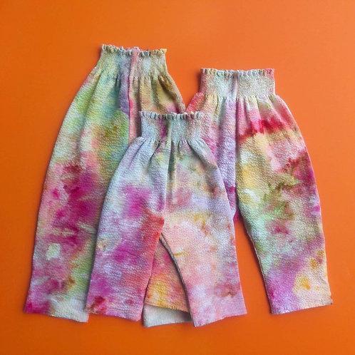 Kaleidoscope Trousers - Ice Dyed