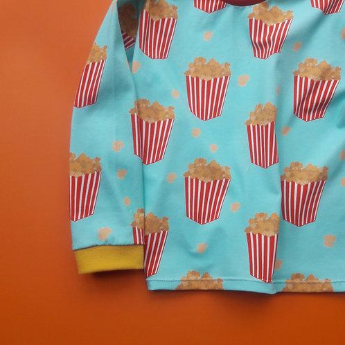 Turquoise Popcorn Tee