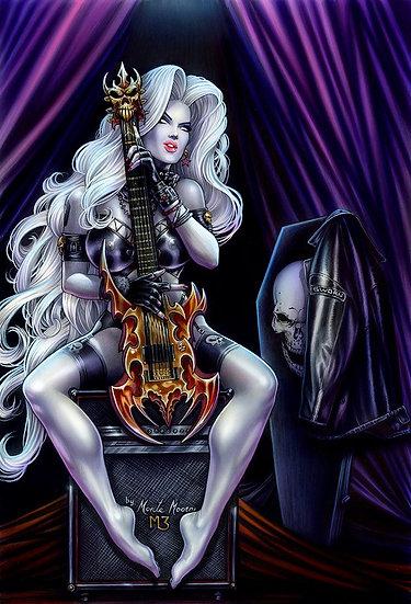 Hard Rocker Print