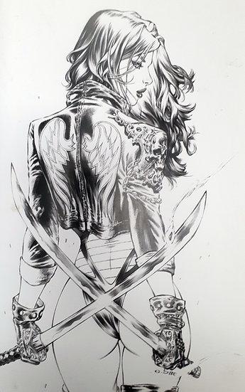 Loco Hero #1 (Ebas Pencil Variant)
