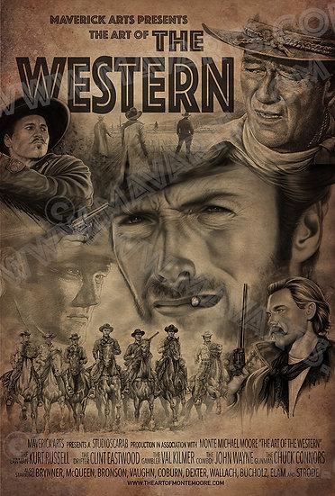 "The Art of the Western ""Cinema"" Print"