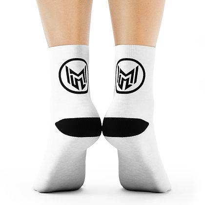 M3 Circle Logo Crew Socks