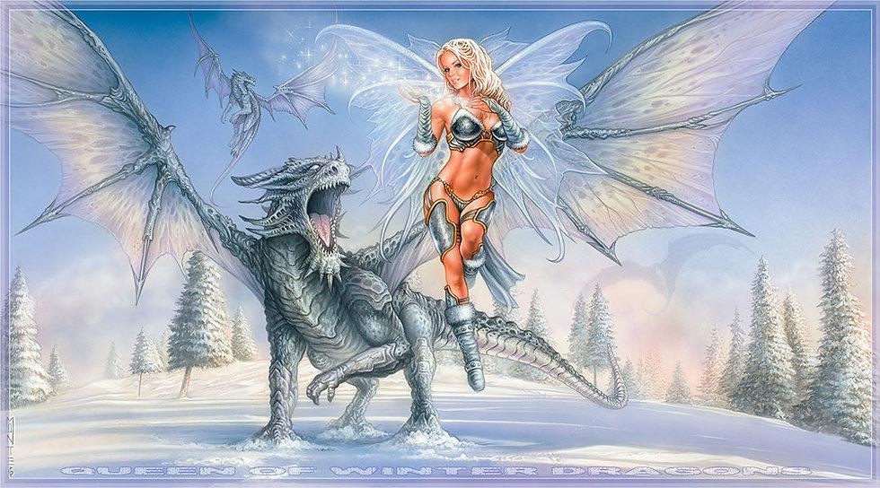Queen of Winter Dragons