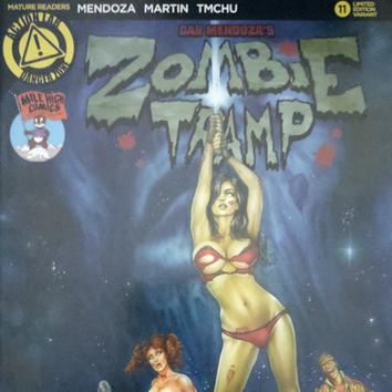 Zombie Tramp #11 Cover Art