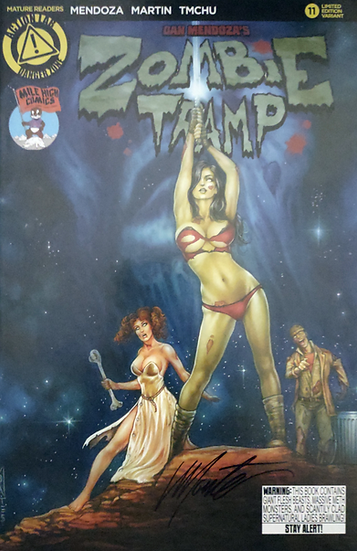 Zombie Tramp #11 (Mile High Comics Variant)