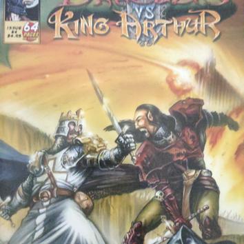 Dracula Vs. King Arthur #4 Cover Art
