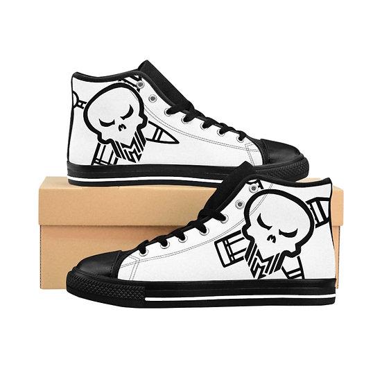 "M3 ""Pirate"" Logo High Top Sneakers"