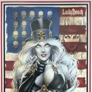 Lady Death: Scorched earth #1 Cover Art