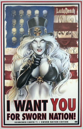 Lady Death: Scorched Earth #1 (Sworn Nation Edition AP)