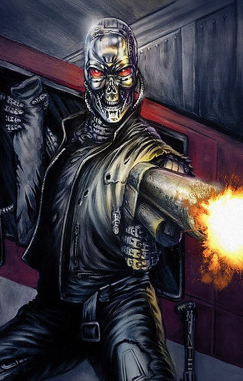 Transformers Vs Terminator #1 (Monte Moore Variant)