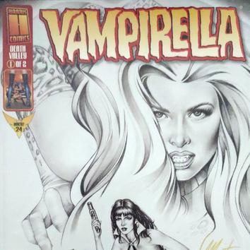 Vampirella: Death Valley #1 Cover Art