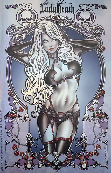 Lady Death: Echoes #1 (Holofoil Grimsley Family Edition)