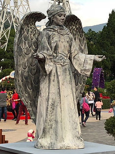 Angel Living Statue