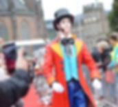 Mr Doll roving mime