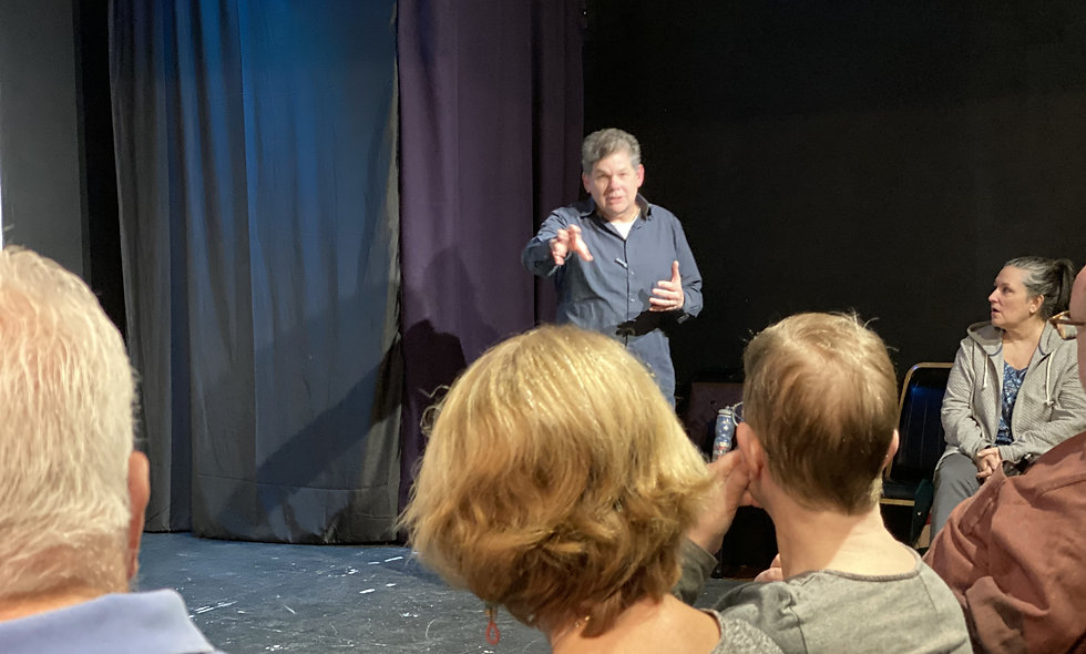 Character Improv: How to develop character August 15th