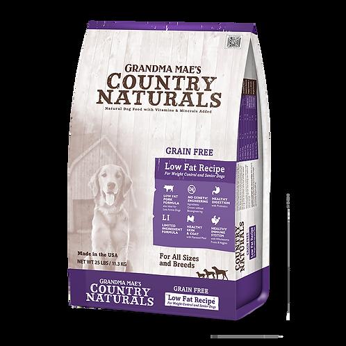 GM Country Naturals 全犬種精簡配方(無穀物防敏高纖)