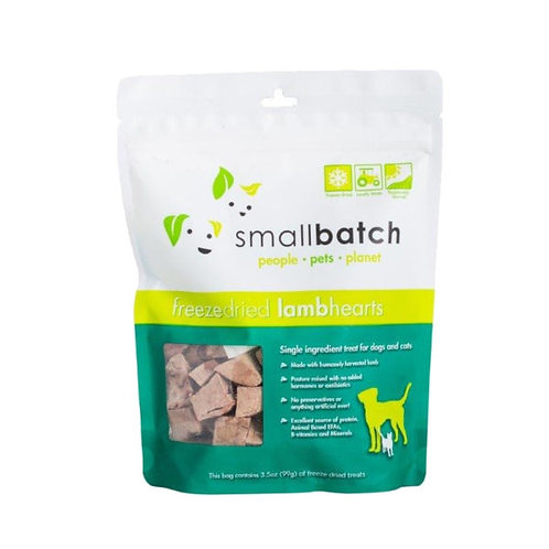 smallbatch 凍乾心藏小食(羊心)3.5oz