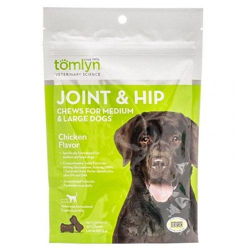 TOMLYN補關節氨基葡萄糖滋味軟粒(成犬)30粒裝