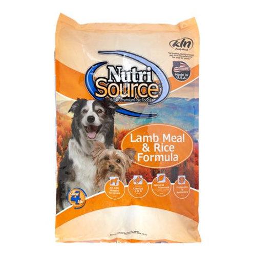 Nutri Source全犬(羊+米)