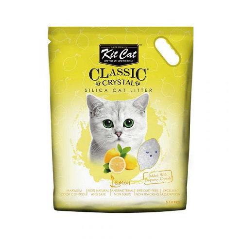 Kit Cat 天然水晶貓砂 5L (檸檬)
