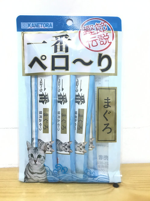 金虎一番  貓奶條-原味(金槍魚味) 1包6枝