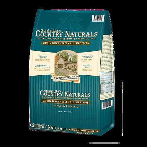 GM Country Naturals 全犬種配方(無穀物白鮭魚雞肉低糖)