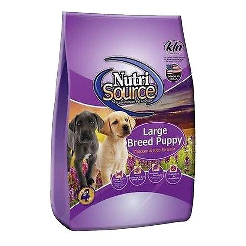 Nutri Source大型幼犬(雞+米配方)狗糧