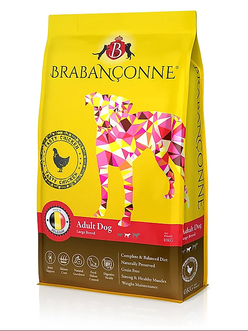 Brabanconne 大型成犬雞肉 10kg