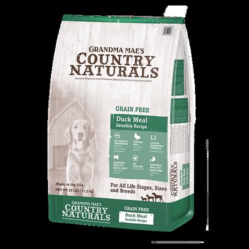 GM Country Naturals 全犬種精簡配方(無穀物鴨肉防敏)