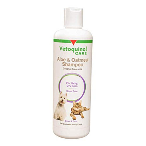 Vetoquinol 貓狗蘆薈及燕麥洗毛液 16oz