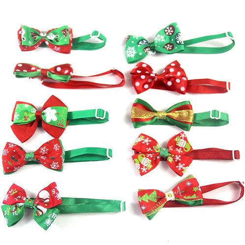 聖誕氣氛蝴蝶領呔(隨機發送)-無鈴鐺款