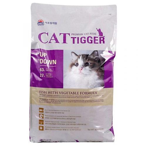韓國TOPET CAT TIGGER(海洋魚+蔬菜)經濟貓糧10KG