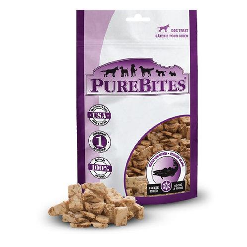 PureBites純淨低溫凍乾鮮肉犬餐 (海洋白身魚)