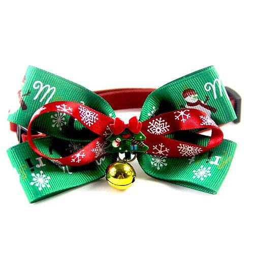 聖誕氣氛蝴蝶領呔-有鈴鐺款 3