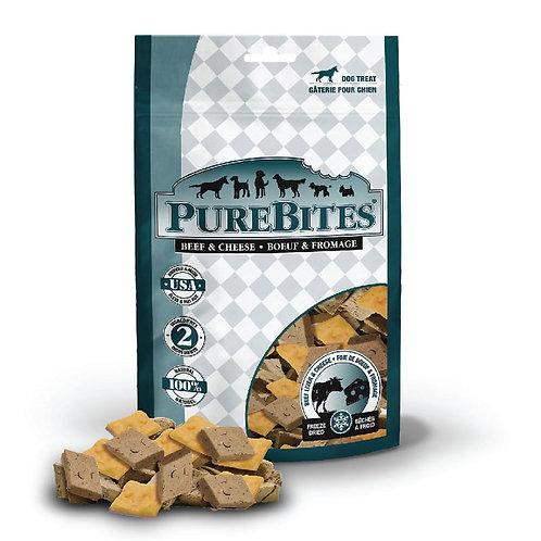 PureBites純淨低溫凍乾鮮肉犬餐 (牛肝+芝士)