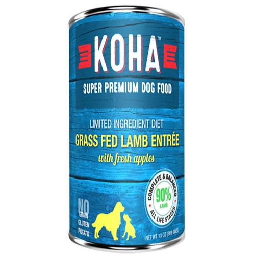 KOHA 美國草飼羊肉醬配新鮮蘋果狗罐